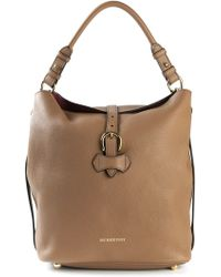 Burberry Classic Leather Shoulder Bag - Lyst