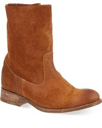 NDC Hera Suede Boots - For Women - Lyst