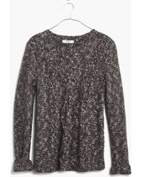 Madewell Firelight Marled Pullover - Lyst
