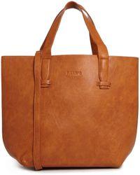 Pull&Bear - Shopper Bag in Tan - Lyst
