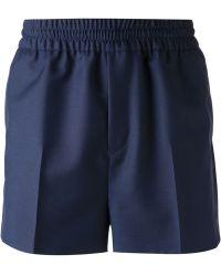 Acne Studios Darted Shorts - Lyst