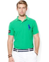 Ralph Lauren Polo Us Open Customfit Polo - Lyst