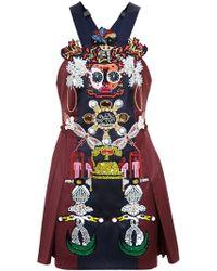 Mary Katrantzou Clocktopia Dress - Lyst