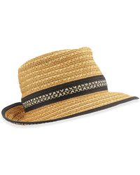 Eric Javits Big Deal Hat - Lyst