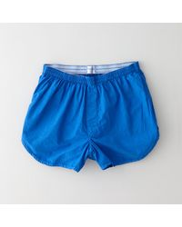 Grover Cotton Boxers blue - Lyst