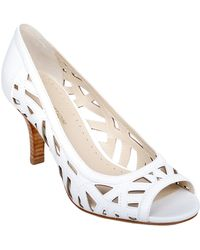 Adrienne Vittadini Grandy Leather Pumps - Lyst