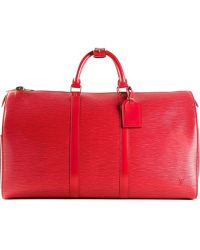 Louis Vuitton Castilian Keepall Bag - Lyst