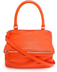 Givenchy Pandora Small Calf Leather Shoulder Bag - Lyst