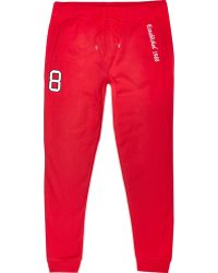 River Island Red Best In Field 1988 Joggers red - Lyst