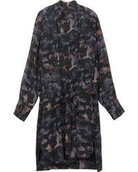 Isabel Marant Carla Printed Shirt Dress - Lyst
