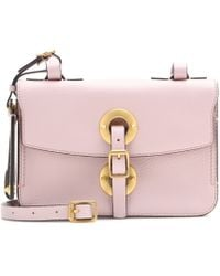 Valentino Eye On You Leather Shoulder Bag - Lyst