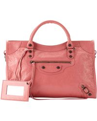 Balenciaga Classic City Bag pink - Lyst