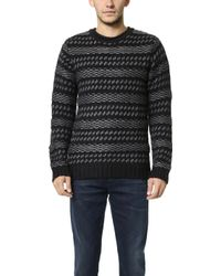Native Youth - Dimensional Pattern Knit Jumper - Lyst