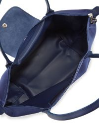 Longchamp Le Pliage Neo Large Nylon Shoulder Tote Bag Navy - Lyst