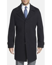 Michael Kors Wool Overcoat - Lyst