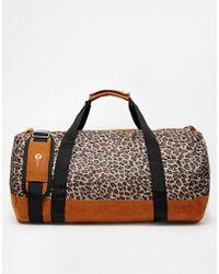 Mi-Pac - Leopard Print Duffle Bag - Lyst