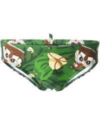 DSquared2 Monkey Swimming Trunks - Lyst