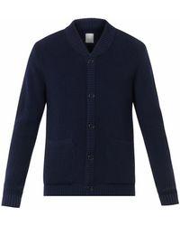 Jean.machine - Desire Ribbed Merino-Wool Cardigan - Lyst