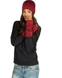 Threads For Thought - Fingerless Glove Solid - Lyst