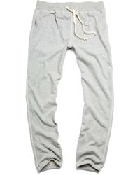 Todd Snyder X Champion   Classic Sweatpant In Grey Chrome   Lyst