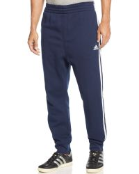Adidas Striped Slimfit Sweatpants - Lyst