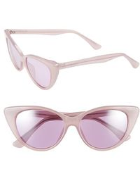 Isaac Mizrahi New York | 52mm Cat Eye Sunglasses - Purple | Lyst