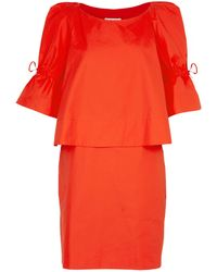 See By Chloé Cotton Layer Dress - Lyst