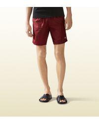 Gucci | Technical Nylon Swim Short | Lyst