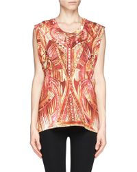Iro Kane Ethnic Print Sleeveless Top - Lyst