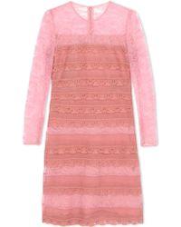 Burberry Prorsum | Short Dress | Lyst