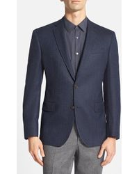 Ted Baker Men'S 'Jay' Trim Fit Herringbone Sport Coat - Lyst