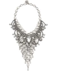 Laura Cantu | Embellished Bib Necklace | Lyst