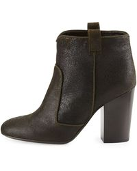 Laurence Dacade Pete Distressed Leather Ankle Boot - Lyst