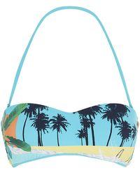 Seafolly Poolside Bandeau Bikini Top - Lyst