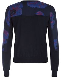Paul by Paul Smith - Floral Panel Cardigan - Lyst