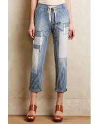 Current/Elliott Drawstring Trousers - Lyst