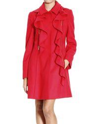 Moschino Cheap & Chic Coat Woman Moschino - Lyst