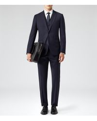 Reiss Youngs T Suit Trousers - Lyst