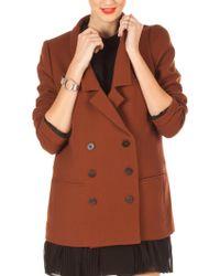 Porter Grey Wool Blazer - Lyst