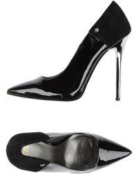 Versace Jeans Pump black - Lyst