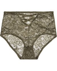 Lonely - Betty Stretch-corded Lace Briefs - Lyst