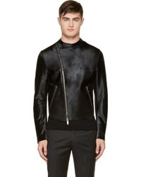 Costume National Black Calf_hair Jacket - Lyst