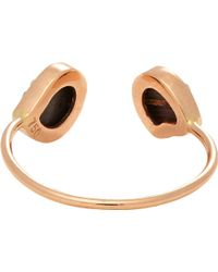 Dezso By Sara Beltran Coral  Rose Gold Venus Cuff Ring - Lyst