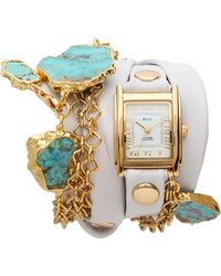 La Mer Collections - Durango Wrap Watch White - Lyst