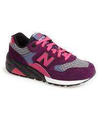New Balance 580 Neon Glow Sneakers - Lyst