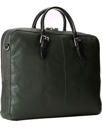 Cole Haan - Pebble Zip Top Attache - Lyst