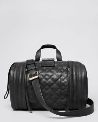 Marc By Marc Jacobs Satchel - Moto Quilted Barrel Large - Lyst