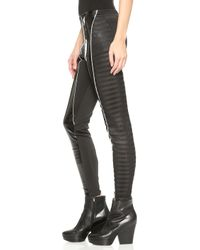 KTZ - Skinny Leggings - Black - Lyst