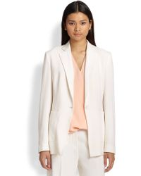 3.1 Phillip Lim Sheer-back Wool Blazer - Lyst