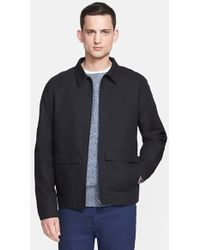 A.P.C. 'Liverpool' Waterproof Cotton Jacket - Lyst
